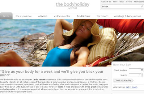 The Body Holiday - LeSport
