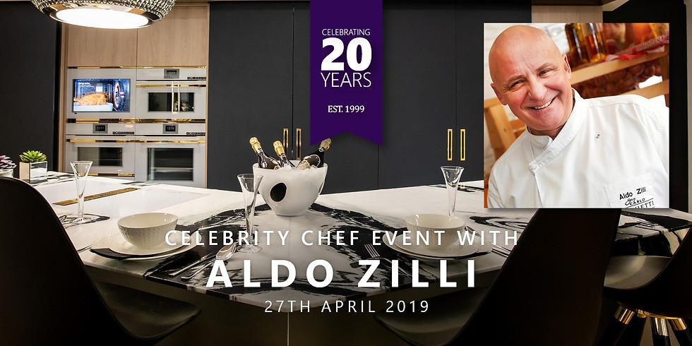 Celebrate Kuche & Bagno's 20 Year Anniversary with celebrity chef Aldo Zilli