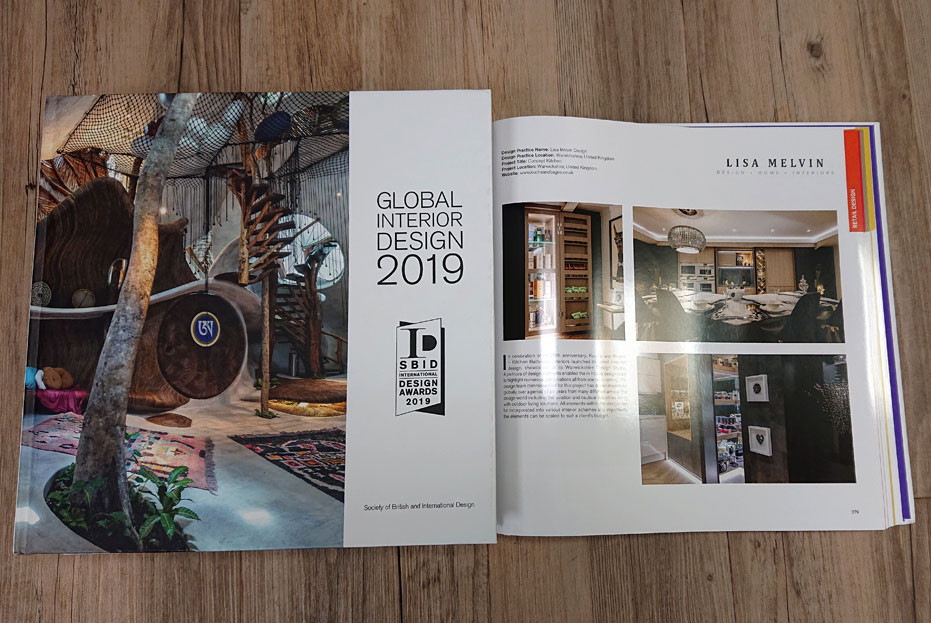Kuche & Bagno project 'Concept Kitchen' featured in the SBID Design Awards 2019 book