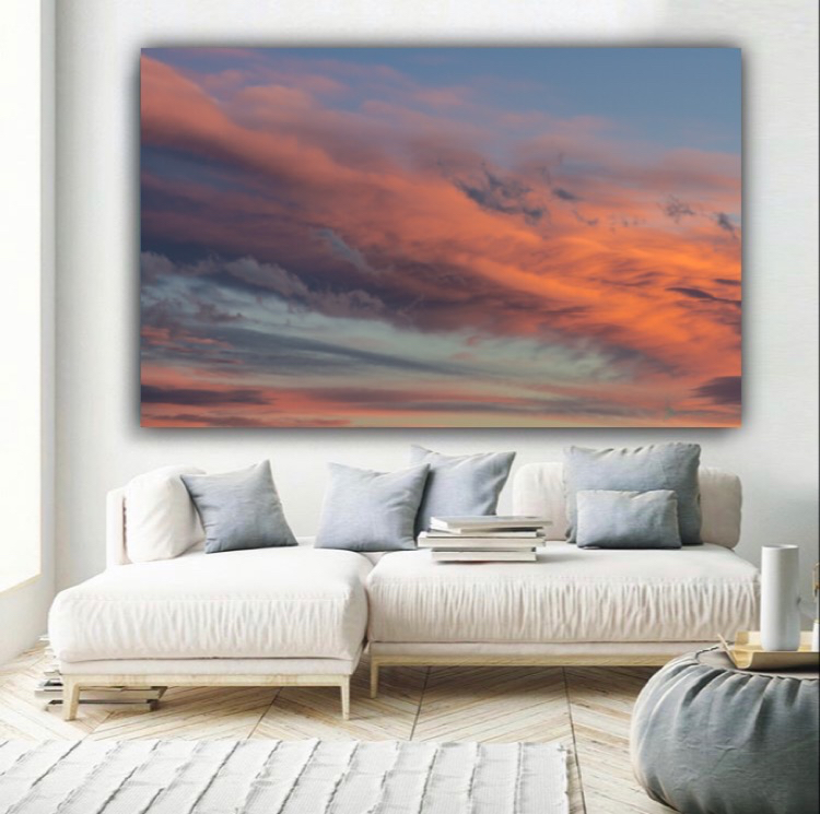 sunset wall decor
