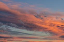sunset clouds wall decor