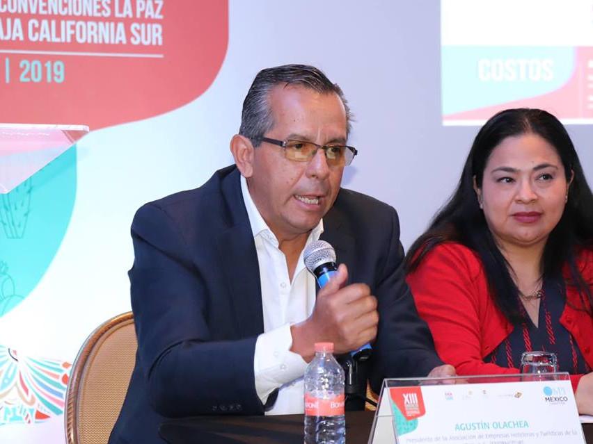 Agustín Olachea, Presidente de la Asocia