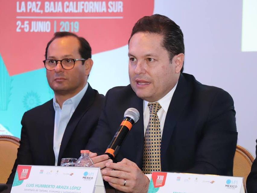 Luis Humberto Araiza, Secretario de Econ