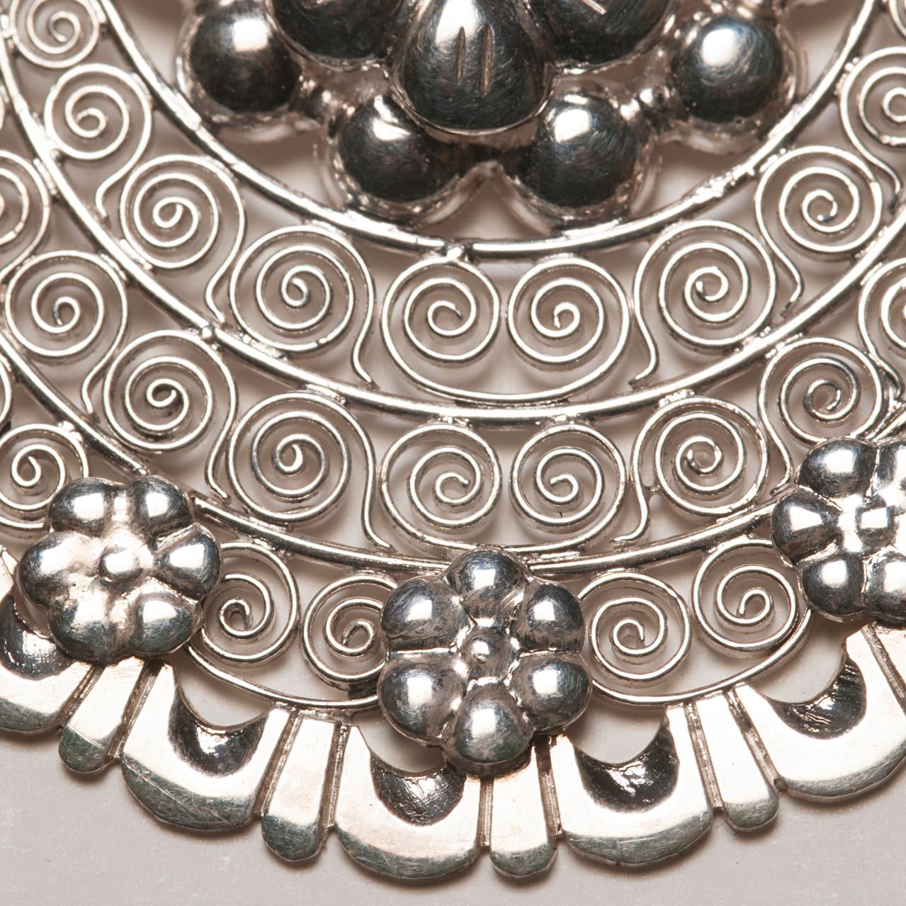 arracadas jerezanas plata