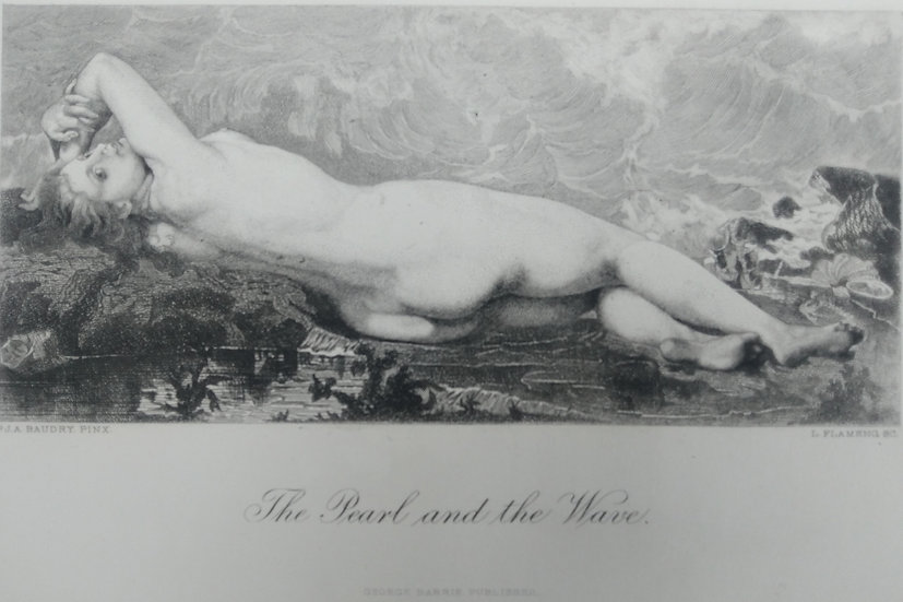 The Pearl and the Wave - Engravings of Nudes C. 1870