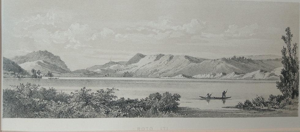 Roto Iti - Barauds Lithographs Circa 1877