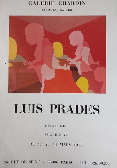 Luis Prades - Galerie Chardin 1977