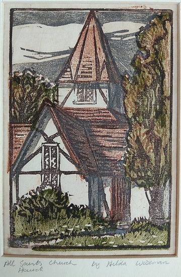 All Saints Church Howick - Hilda Wiseman C. 1945