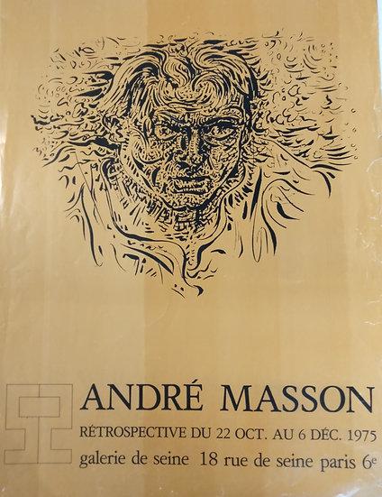 Andre Masson - Galerie du Seine - 1975
