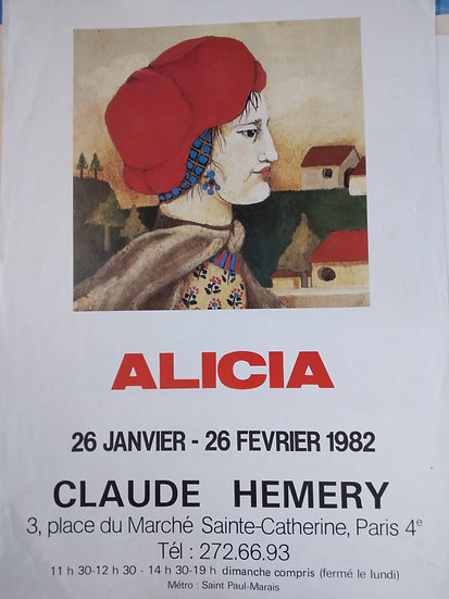 Alicia by Claude Hemery - Place du Marche 1982