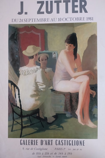 J. Zutter - Galerie d'Art Castiglione 1981