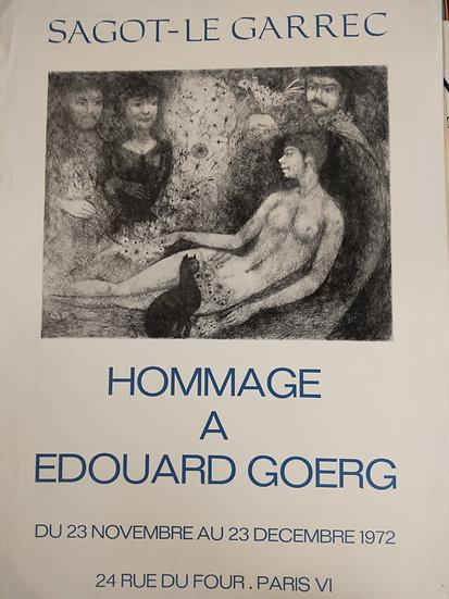 Homage a Edouard Goerg -Sagot-le Garrec 1972