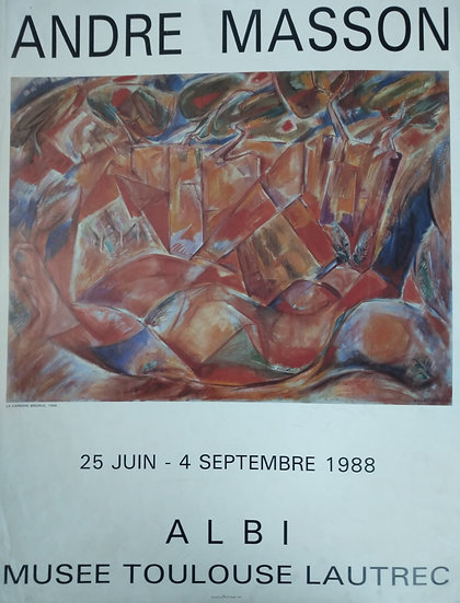 Andre Masson ALBI - Musee Toulouse Lautrec 1988