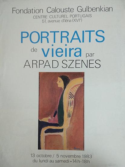 Portraits de Vieria par Arpad Szenes - Foundation Colouste Galbenkian 1983