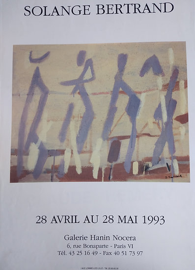 Solange Bertrand - Galerie du Seine 1975