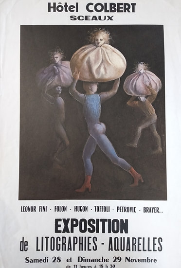 Exposition de Litographies Aquarelles - Hotel Colbert Sceaux