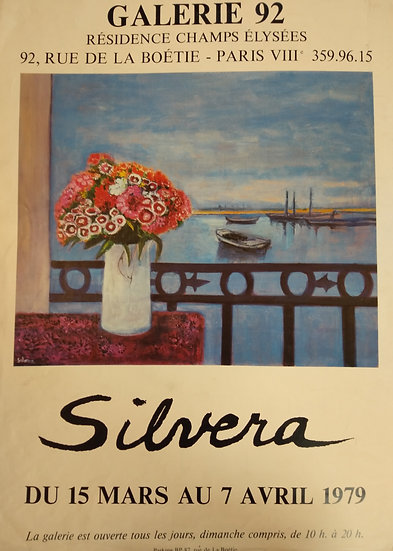 Silvera - Galerie 92 Champs Elysees 1979