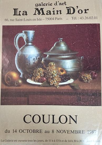 Coulon - Galerie d'art La Main D'or 1986