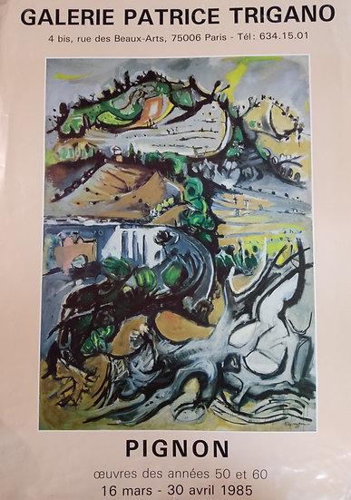 Pignon - Galerie Patrice Trigano 1985