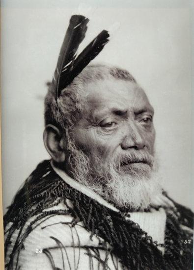 Platinotype photograph of Pora Hirunarama of Otoko. Circa 1900