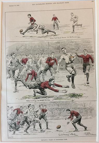 England vs. Wales at Birkenhead Park