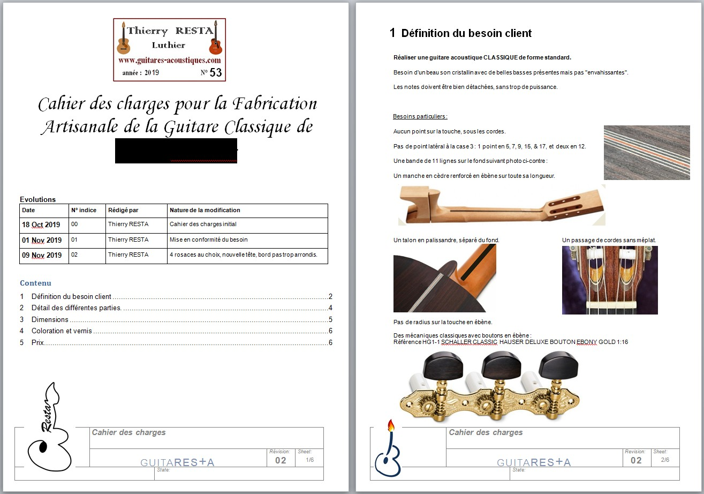 Exemple de cahier des charges p1 & 2