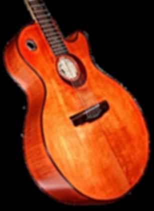 Guitare Les Paul Acoustic de Thierry RESTA Luthier guitares acoustiques