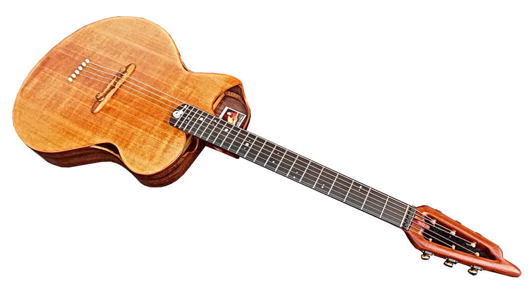 Guitare EVOLUTION FOLK de Thierry RESTA Luthier guitares acoustiques
