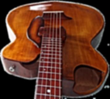 Guitare Studio Jazz de Thierry RESTA Luthier guitares acoustiques