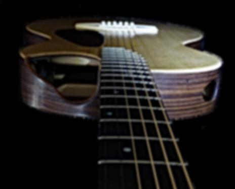 Guitare PARLOR Pan coupé de Thierry RESTA Luthier guitares acoustiques