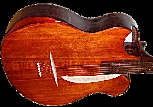 Guitare POWER de Thierry RESTA Luthier guitares acoustiques