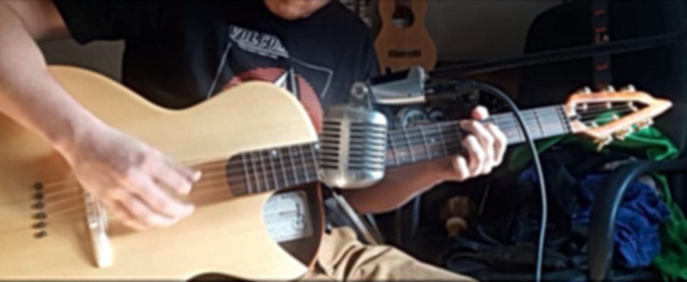 VIDEO DE DEMONSTRATION d'une Guitare sur mesure de Thierry RESTA Artisan Luthier en FRANCE
