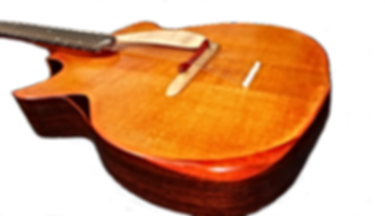 Guitare acoustique FOLK660 sur mesure de Thierry RESTA Artisan Luthier en France