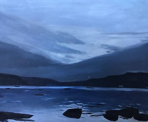 """92 """"Nightfall 1"""" by Deborah Hunter Mills"""