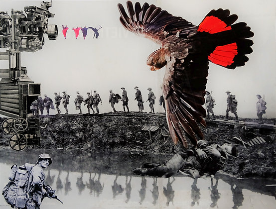 """58 """"War Trilogy 3 - Guiding the Spirit to Elysium"""" by Max Dingle"""