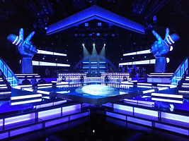 Staging, Rigging, air pro, airpro, Airpro, rigging, staging, staging supervisor, staging supervision, air pro, air productions, grips, riggers, television, production, The american bible challenge set, carson coulon, rigging, airpro