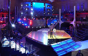 Carson Coulon, Carson, Celebrity Family Feud, Staging, Rigging, air pro, airpro, Airpro, rigging, staging, staging supervisor, staging supervision, air pro, air productions, grips, riggers, television, production, celebrity family feud set, celebrity family feud, set