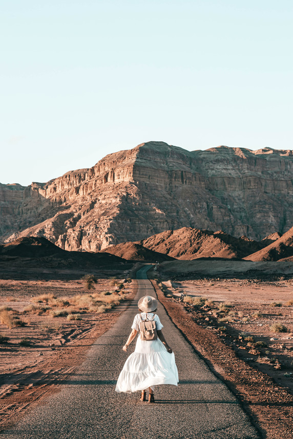 Sunset in Timna Park