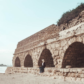 Caesarea beach: a must visit when traveling to Israel