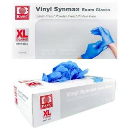 INTCO - Basic Synmax Blue Medical Nitrile/ Vinyl Blend Gloves - 1 case