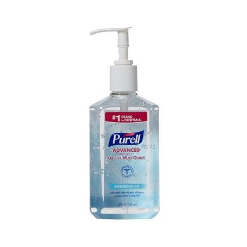 Hand Sanitizer Purell® Advanced 12 oz. Ethyl Alcohol Gel Pump Bottle
