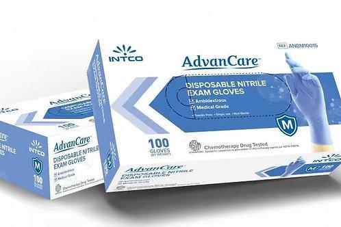 case INTCO Advancare Nitrile Exam ChemoTherapy Drug tested