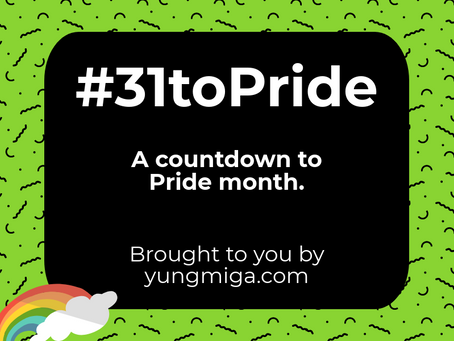 In case you missed it: #31toPride