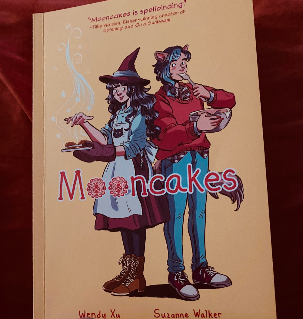 """Photo of """"Mooncakes"""" by Suzanne Walker and illustrated by Wendy Xu"""