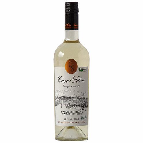 Casa Silva Orgânico Sauvignon Blanc - Sauvignon Gris 2018