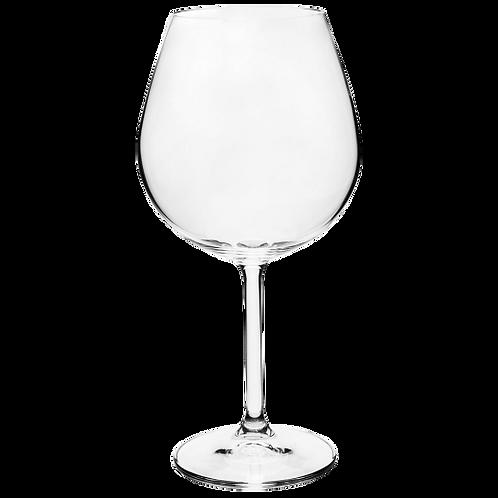 Caixa 06 un. Taça Cristal Bordeaux Bohemia 650ml