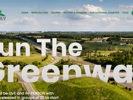 Run the Greenway on May 1!!