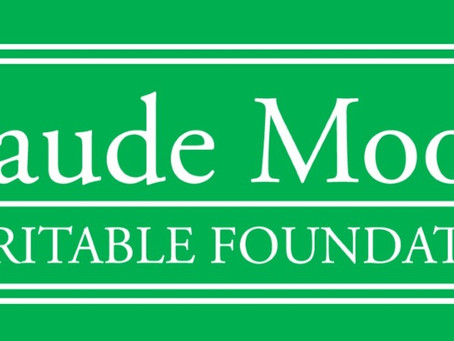Claude Moore Charitable Foundation Contribution for Renovations
