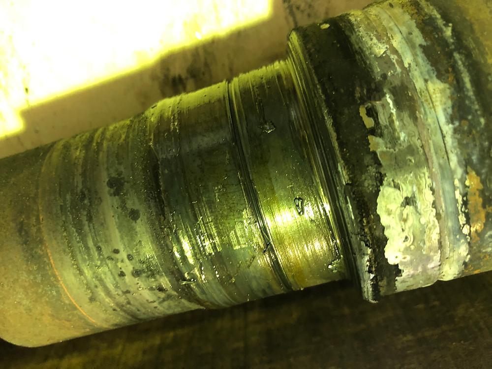 Shaft Damaged at NDE Bearing