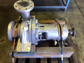 Bitumen Plant Hot Oil Pump Overhaul